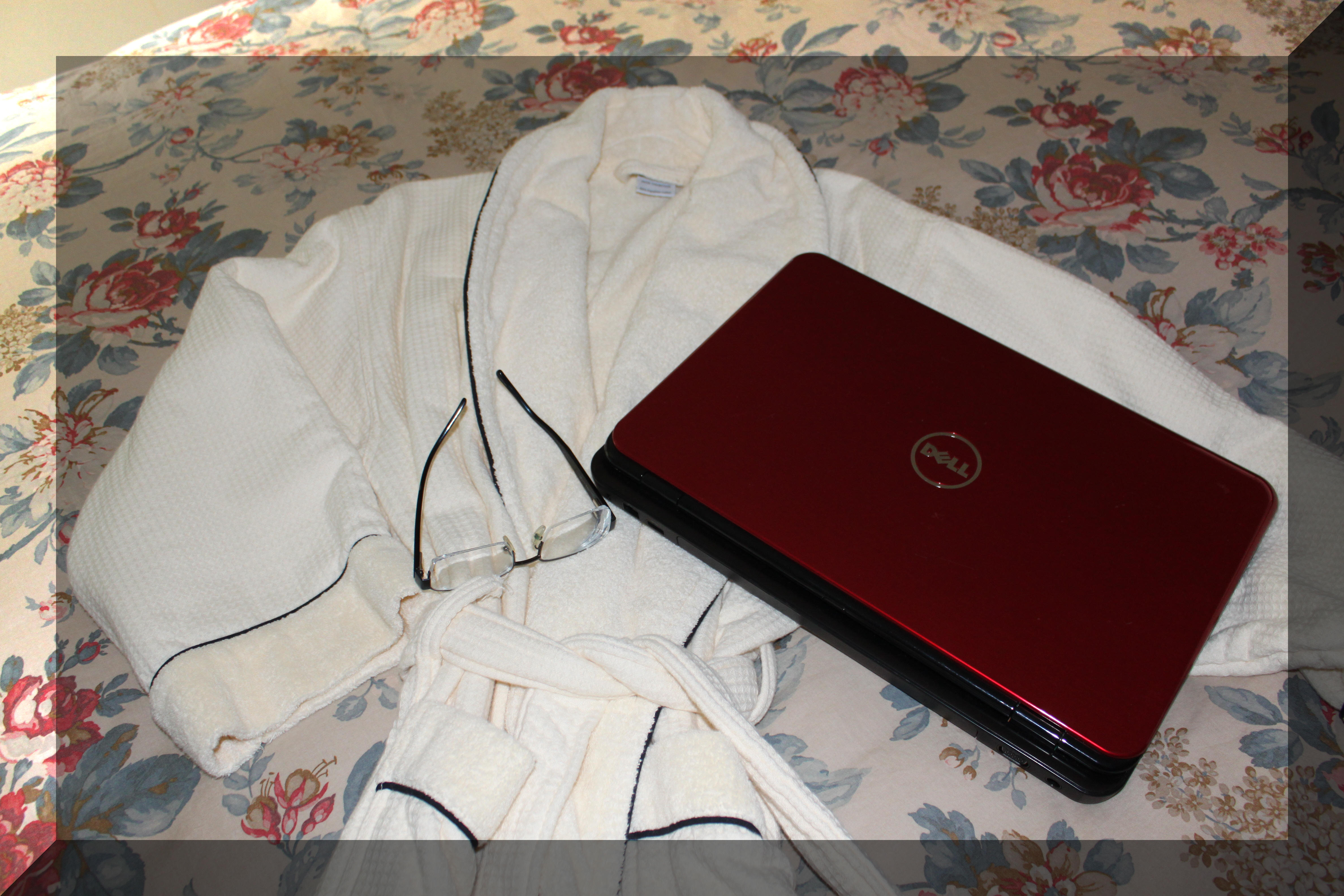 Robe and Laptop